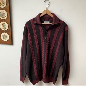 Vintage 100% Cashmere Sweater Made In Italy